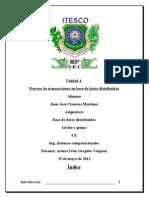 Unidad 4 Bdd