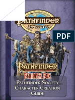 Beginner Box - Pathfinder Society Character Creation Guide