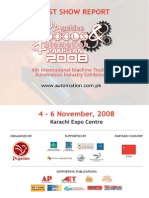 International Machine Tools & Automation Industry Exhibition & Conferenc Show Report 2008
