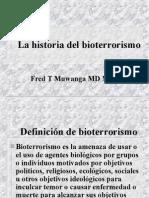 Historia de Bioterrorismo