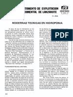 Modernas Tcnicas en Hidropona