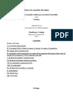 Sobre La Cuestión Del Alma-castellano-Gustav Theodor Fechner