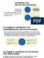 Mejora Continua ISO 9001:2000