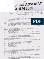 SoalUjianAdvokat_2006