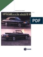 Saab 900 Convertible 1994 Ce [Ocr]