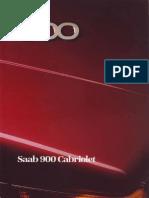 Saab 900 Cabriolet 1987 [Ocr]