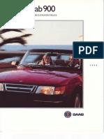 Saab 900 Convertible 1994 [Ocr]