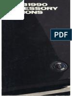 1990 Saab Accessories Catalog [Ocr]