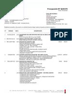Presupuesto Integracion Ip