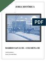 Memoria Histórica Barrio San Luis