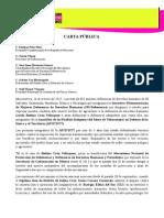 Carta Pública Bettina Cruz y Apiitdtt 16102015