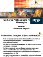 IPA Institute Business Stake in Mining Projects Portuguese