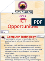 Youth Church Ict-power_point