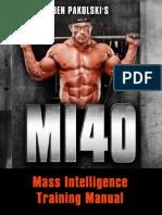 Main Training Manual