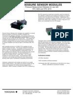 Pressure Sensor Modules