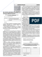 R. 118-2015-CD-OSIPTEL (Proyecto de Normas Complementarias OMV)