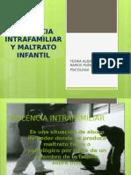 Violencia Intrafamiliar y Maltrato Infantil