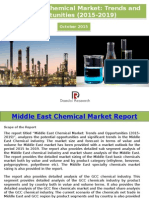 Middle East Chemical Market