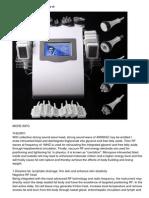 6-1 Cellulite Removal Tripolar Rf Led Lllt Led Cavitation Machine