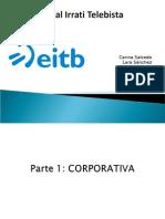 Panorama sobre la televisión vasca 2015 EITB