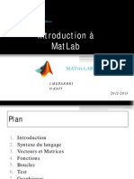 Initiation MatLab