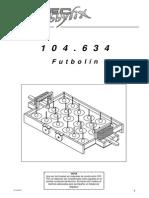 futbolín OPITEC - 104634bm