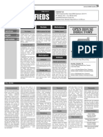 Claremont COURIER Classifieds 10-16-15