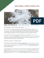 Salt Gets an Unfair Shake, Public Health Feels the Pinch