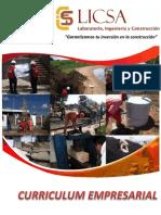 Curriculum LICSA - Cliente 2015