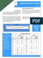 151016 Consumer Price Index - Aug 15