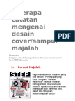 Desain Grafis Cover Majalah