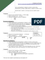 Ejercicios para aprender el subjuntivo en portugues