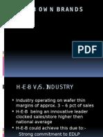 H-E-B Own Brands Retail Case
