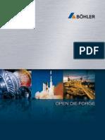 BOEHLER SC127E Open Die Forge