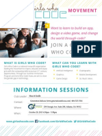 girls who code - info session10 20 15