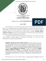 Sentencia Nro. 1859-2014 de La Sala Constitucional Del Tribunal Supremo de Justicia de Fecha 18 de Diciembre de 2014 Caso Aldrim Joshua Castillo Lovera.