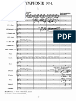 Mahler - Symphony No. 4 Orch. Score