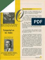 Selección de Textos Tempestad en Los Andes