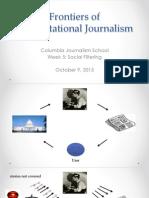 Social Filtering. Computational Journalism week 5