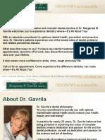 Chino Cosmetic Dentist – Dr. Margareta M Gavrilla DDS