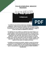 LA POLÍTICA EN HONDURAS