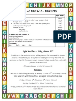 weekly newsletter 10-19-15 site