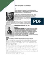 Biografía de 10 Químicos de La Antigüedad