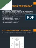 CONEXIONES TRIFASICAS - diapositivas