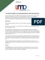 LMD operating plan