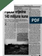 Pljačka vrijedna 140 milijuna kuna (tekst iz 1997)