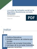 Políticas de inclusión social en la República Dominicana