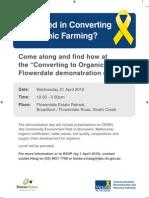 Organic Farming Flyer High Resolution -- D10-36095