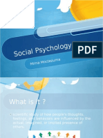 soical psychology