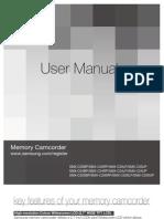 Samsung SMX-C20 English User Manual